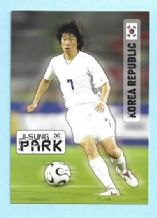 South Korea Ji-Sung Park Manchester United (D)